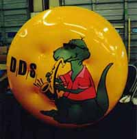 helium advertising balloons - custom balloons made in USA.